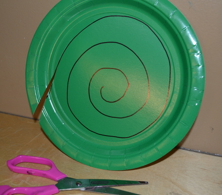 Christmas Tree Spiral : christmas paper plates target - pezcame.com