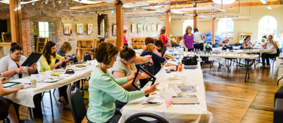 Adult craft classes